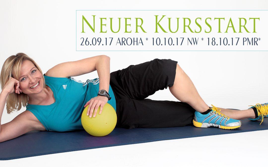 Neue Kurse starten im September und Oktober ! Fetziger Sportkurs Aroha startet am 26.09.17 in Dresden Laubegast!