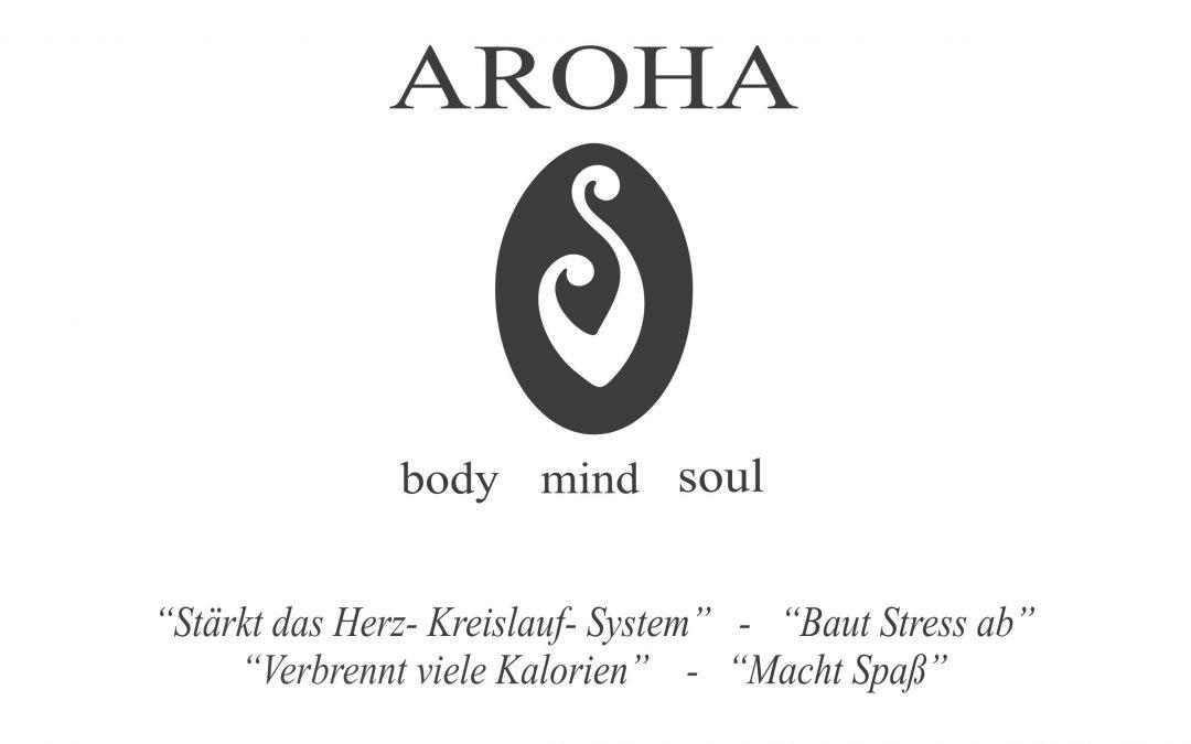 Neuer Aroha Kurs startet am 10.April 2017 in Dresden Laubegast